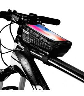 """Juodas universalus telefonų dėklas dviračiams """"M"""" """"Wildman Hardpounch"""""""