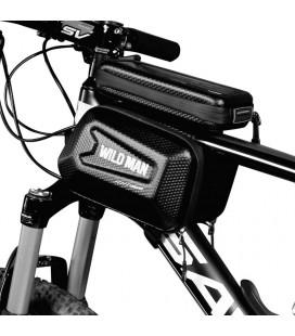 """Juodas universalus telefonų dėklas dviračiams """"XL"""" """"Wildman Hardpounch"""""""