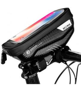 """Juodas universalus telefonų dėklas dviračiams """"S"""" """"Wildman Hardpounch"""""""