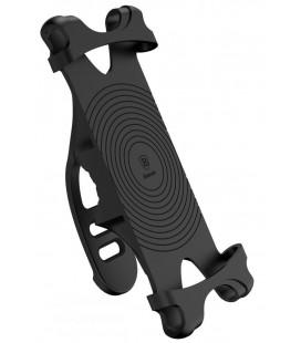 """Juodas universalus telefonų laikiklis dviračiams iki 6"""" """"Baseus Bike Mount"""""""