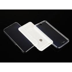 """Skaidrus silikoninis dėklas Apple iPhone 6/6s Telefonui """"Fitty Double"""" Skirtas apsaugoti telefono nugarėle ir ekraną."""