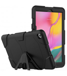 """Juodas dėklas Samsung Galaxy Tab A 10.1 2019 T510 / T515 planšetei """"Tech-Protect Survive"""""""