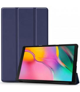 """Mėlynas atverčiamas dėklas Samsung Galaxy Tab A 10.1 2019 T510 / T515 planšetei """"Tech-Protect Smartcase"""""""
