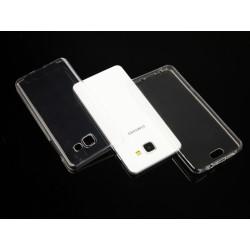 """Skaidrus silikoninis dėklas Samsung Galaxy A5 2016 telefonui """"Fitty Double"""""""