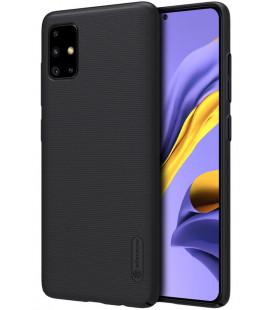 "Juodas dėklas Samsung Galaxy A51 telefonui ""Nillkin Frosted Shield"""