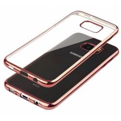 """Rausvai auksinės spalvos silikoninis dėklas Samsung Galaxy S7 Edge G935 Telefonui """"Glossy"""""""
