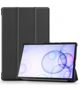 """Juodas atverčiamas dėklas Samsung Galaxy Tab S6 10.5 T860 / T865 planšetei """"Tech-Protect Smartcase"""""""