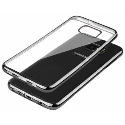 """Juodas silikoninis dėklas Samsung Galaxy S7 Edge G935 Telefonui """"Glossy"""""""
