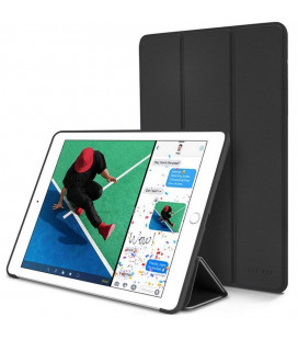"""Juodas atverčiamas dėklas Apple iPad 9.7 2017/2018 planšetei """"Tech-Protect Smartcase"""""""