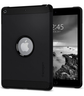 "Juodas dėklas Apple iPad 9.7 2017/2018 planšetei ""Spigen Tough Armor"""