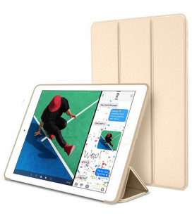 """Auksinės spalvos atverčiamas dėklas Apple iPad 9.7 2017/2018 planšetei """"Tech-Protect Smartcase"""""""