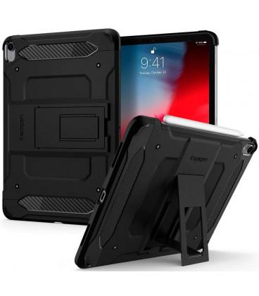 "Juodas dėklas Apple iPad Pro 11 2018 planšetei ""Spigen Tough Armor Tech"""
