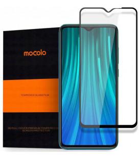 """Juodas apsauginis grūdintas stiklas Xiaomi Redmi Note 8T telefonui """"Mocolo"""""""