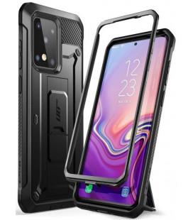 """Juodas dėklas Samsung Galaxy S20 Ultra telefonui """"Supcase Unicorn Beetle Pro"""""""