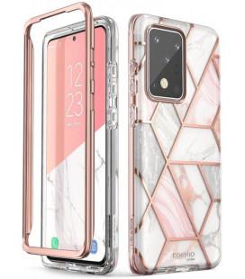 """Dėklas su marmuro efektu Samsung Galaxy S20 Ultra telefonui """"Supcase Cosmo"""""""