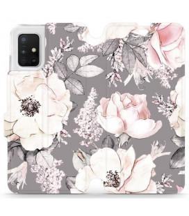 """Atverčiamas dėklas """"Faded"""" Samsung Galaxy A71 telefonui """"Mobiwear MX06R"""""""