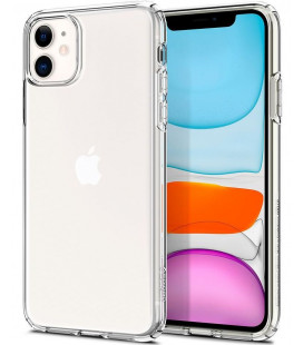 "Skaidrus dėklas Apple iPhone 11 telefonui ""Spigen Liquid Crystal"""