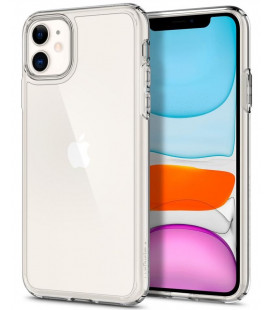 "Skaidrus dėklas Apple iPhone 11 telefonui ""Spigen Ultra Hybrid"""