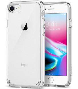 """Skaidrus dėklas Apple iPhone 7/8 telefonui """"Spigen Ultra Hybrid 2"""""""
