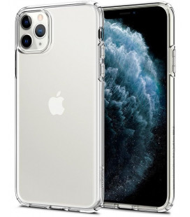 "Skaidrus dėklas Apple iPhone 11 Pro Max telefonui ""Spigen Liquid Crystal"""