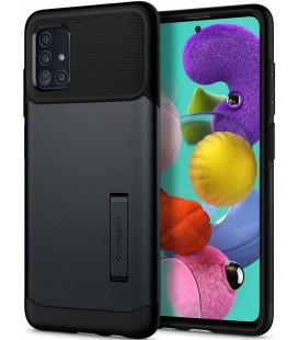 "Pilkas dėklas Samsung Galaxy A51 telefonui ""Spigen Slim Armor"""