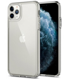 "Skaidrus dėklas Apple iPhone 11 Pro telefonui ""Spigen Ultra Hybrid"""
