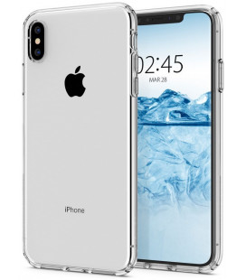 "Skaidrus dėklas Apple iPhone X / XS telefonui ""Spigen Liquid Crystal"""