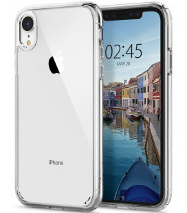 "Skaidrus dėklas Apple iPhone XR telefonui ""Spigen Ultra Hybrid"""