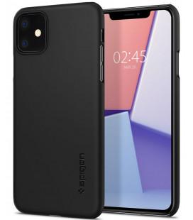 "Juodas dėklas Apple iPhone 11 telefonui ""Spigen Thin Fit"""