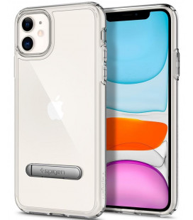 """Skaidrus dėklas Apple iPhone 11 telefonui """"Spigen Ultra Hybrid S"""""""