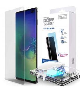 """Skaidrus apsauginis grūdintas stiklas Samsung Galaxy S10 Plus """"Whitestone Dome Glass"""""""