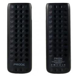 """Juod išorinė baterija 12000mAh PowerBank """"Remax Lovely Power Box V12"""""""