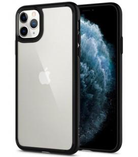 "Matinis juodas dėklas Apple iPhone 11 Pro telefonui ""Spigen Ultra Hybrid"""