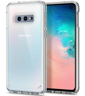 "Skaidrus dėklas Samsung Galaxy S10E telefonui ""Spigen Ultra Hybrid"""