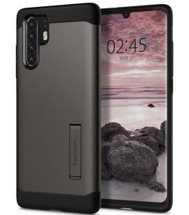 """Pilkas dėklas Huawei P30 Pro telefonui """"Spigen Slim Armor"""""""