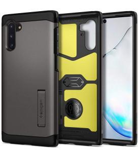 "Pilkas dėklas Samsung Galaxy Note 10 telefonui ""Spigen Tough Armor"""