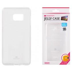 """Skaidrus dėklas Mercury Goospery """"Jelly Case"""" Samsung Galaxy S6 Edge Plus G928 telefonui"""