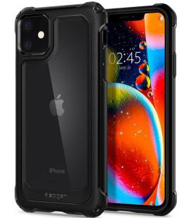 "Juodas dėklas Apple iPhone 11 telefonui ""Spigen Gauntlet"""