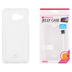 "Skaidrus dėklas Mercury Goospery ""Jelly Case"" Samsung Galaxy A3 2016 (6) A310 telefonui"