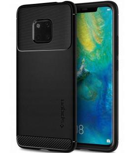 """Juodas dėklas Huawei Mate 20 Pro telefonui """"Spigen Rugged Armor"""""""