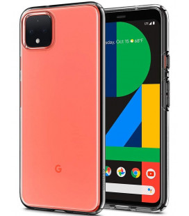 "Skaidrus dėklas Google Pixel 4 telefonui ""Spigen Liquid Crystal"""