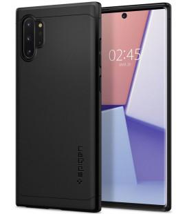 "Juodas dėklas Samsung Galaxy Note 10 Plus telefonui ""Spigen Thin Fit Classic"""