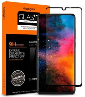 """Apsauginis grūdintas stiklas Huawei P30 telefonui """"Spigen Glas.TR Slim HD"""""""
