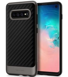 "Pilkas dėklas Samsung Galaxy S10 telefonui ""Spigen Neo Hybrid"""