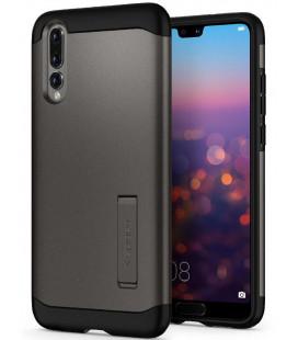 """Pilkas dėklas Huawei P20 Pro telefonui """"Spigen Slim Armor"""""""