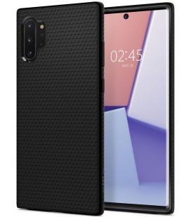 """Juodas dėklas Samsung Galaxy Note 10 Plus telefonui """"Spigen Liquid Air"""""""