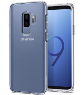 "Skaidrus dėklas Samsung Galaxy S9 Plus telefonui ""Spigen Liquid Crystal"""