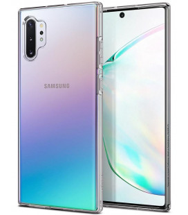 "Skaidrus dėklas Samsung Galaxy Note 10 Plus telefonui ""Spigen Liquid Crystal"""