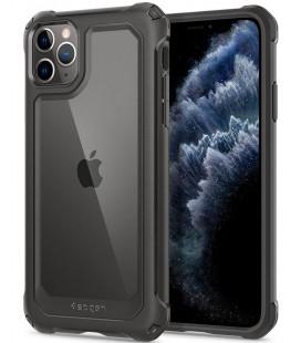 "Pilkas dėklas Apple iPhone 11 Pro Max telefonui ""Spigen Gauntlet"""