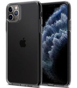 """Skaidrus/pilkas dėklas Apple iPhone 11 Pro Max telefonui """"Spigen Liquid Crystal"""""""